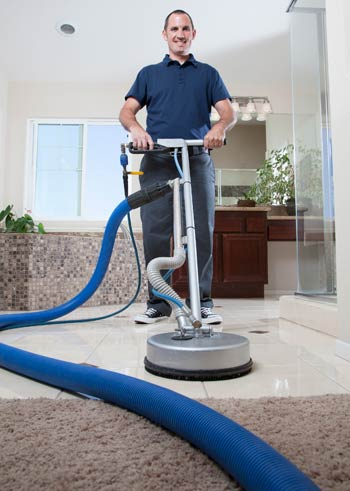 Carpet Cleaning Floor